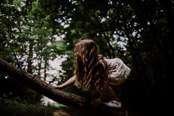 ma fille qui grimpe