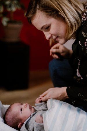 maman et nouveau né